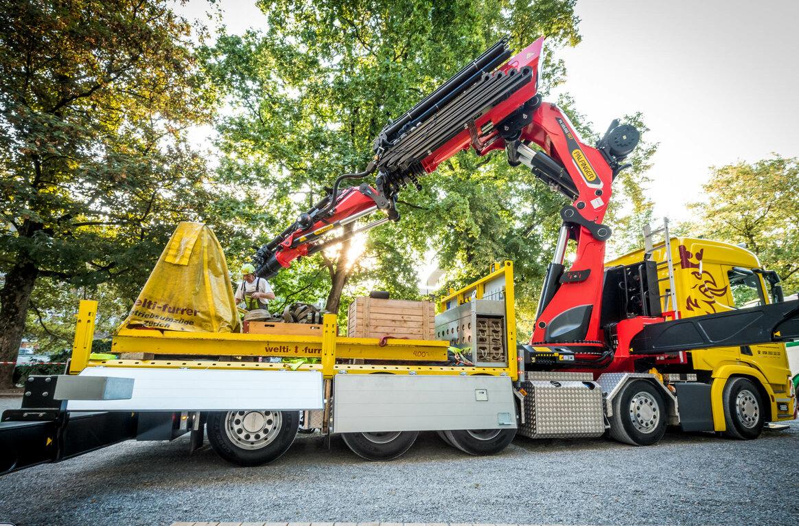 Welti-Furrer Pneukran &Spezialtransport AG, CH-4410 Liestal