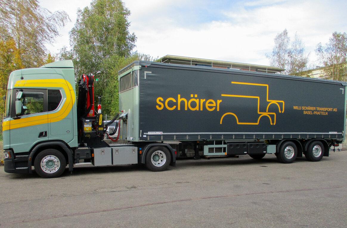 Willi Schärer Transport AG, CH-4133 Pratteln