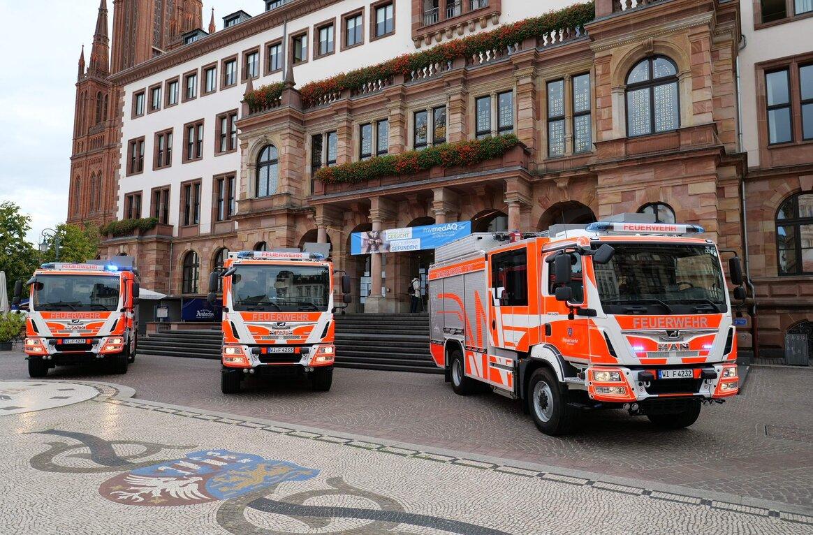 Berufsfeuerwehr, DE-65197 Wiesbaden