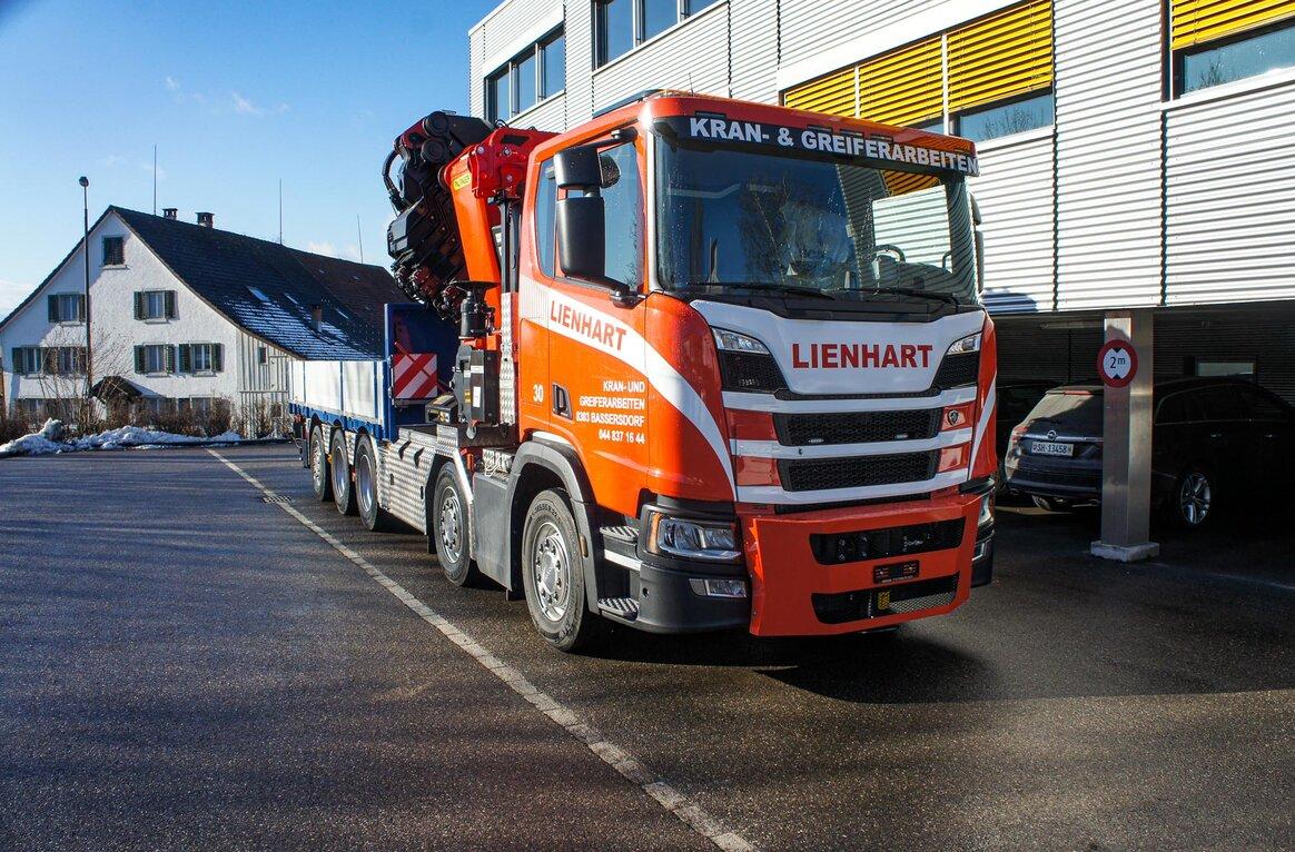 Lienhart Transporte AG, CH-8303 Bassersdorf