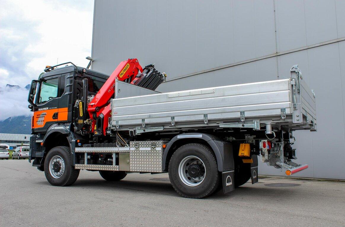 Maurer Transporte GmbH, CH-7074 Malix