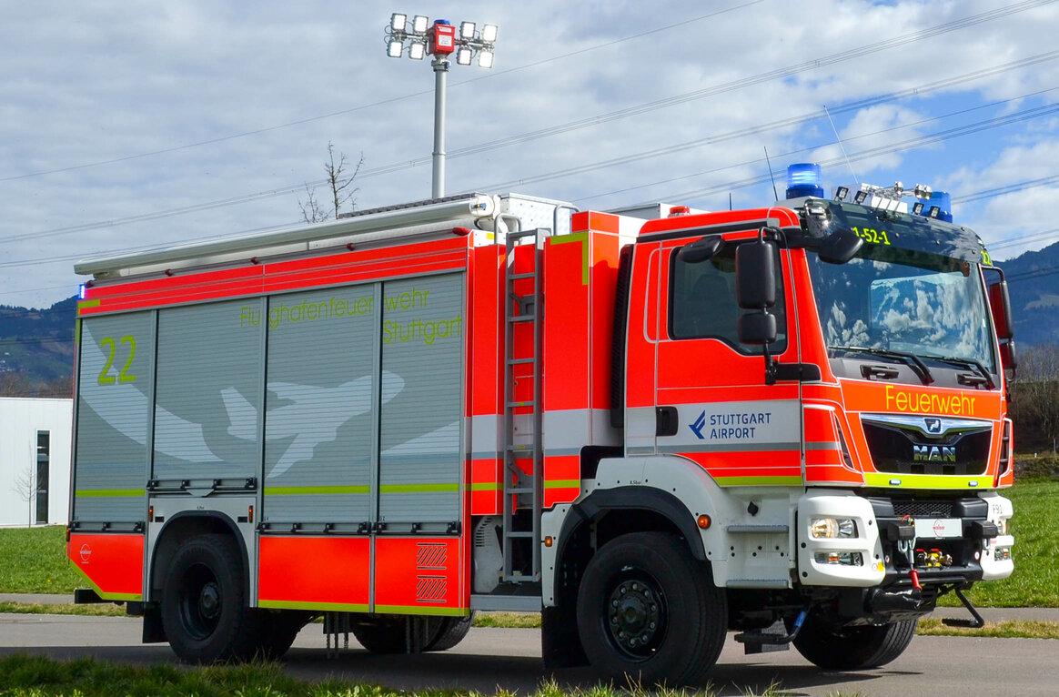 Flughafen-Feuerwehr DE-70372 Stuttgart