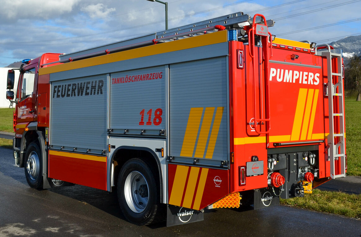 Feuerwehr Trais Lejs, CH-7513 Silvaplana