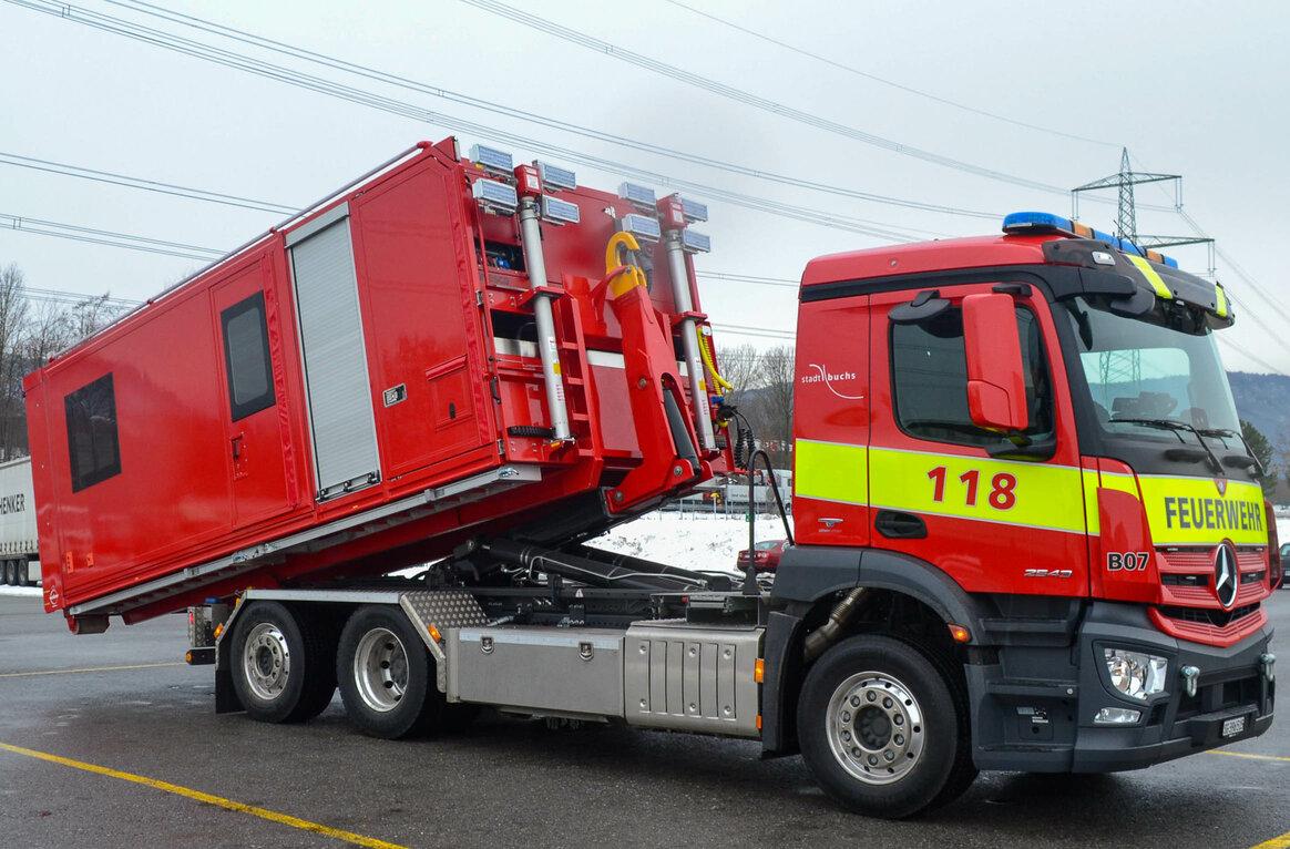 Feuerwehr CH-9470 Buchs